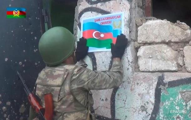 Азербайджан заявив про взяття нових опорних пунктів у Карабасі