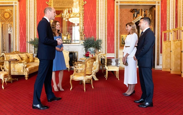 Зеленский и первая леди посетили Букингемский дворец