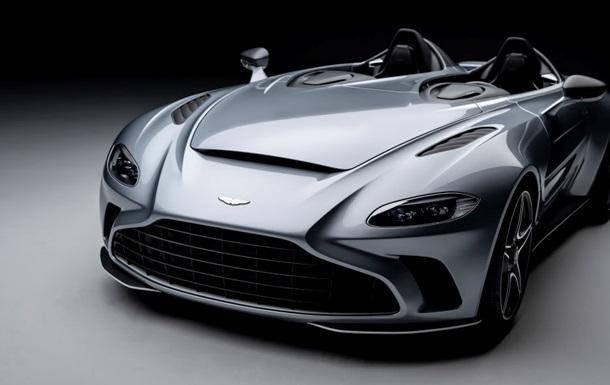 Презентовано прототип Aston Martin V12 Speedster