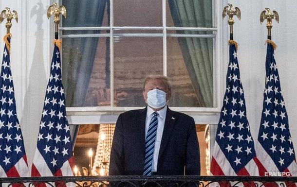 У Трампа нашли антитела к коронавирусу