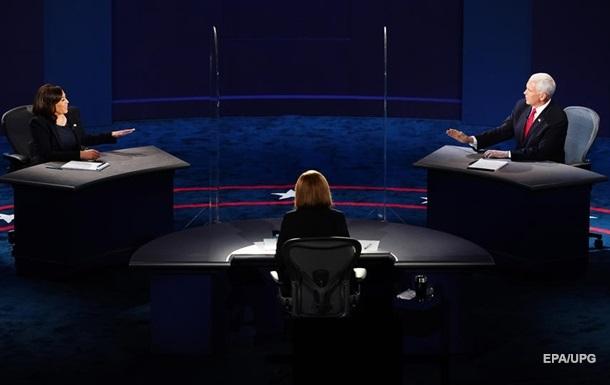 В США стартовали дебаты кандидатов в вице-президенты