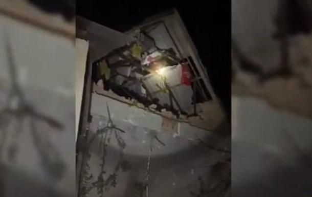 В Днепре разрушился частный дом