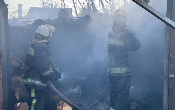 В Харькове потушили масштабный пожар