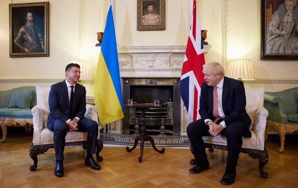 Зеленский и Джонсон встретились в Лондоне