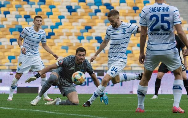 Динамо оголосило заявку на Лігу чемпіонів