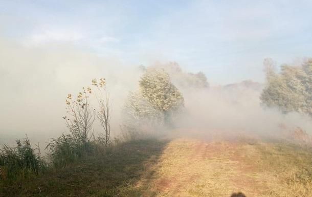 Пожары из России через границу перекинулись в Украину