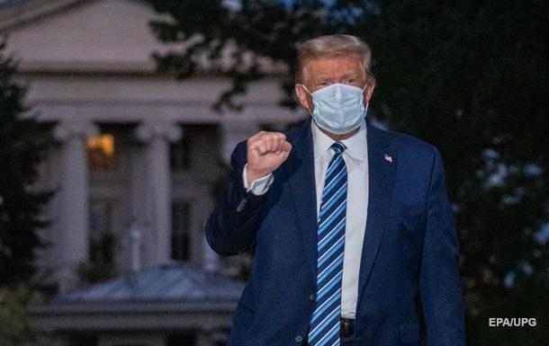 Врач Трампа сообщил, когда американский лидер появится на публике
