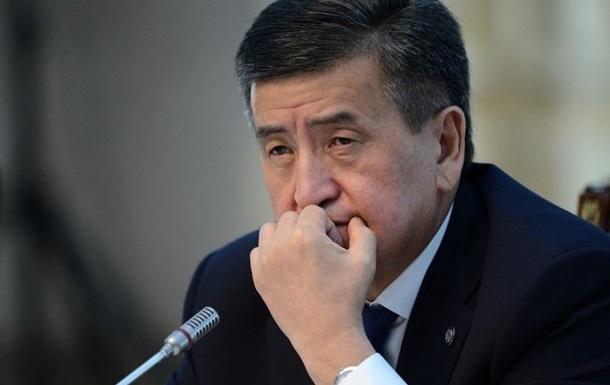 Президент Кыргызстана заявил, что готов уйти в отставку