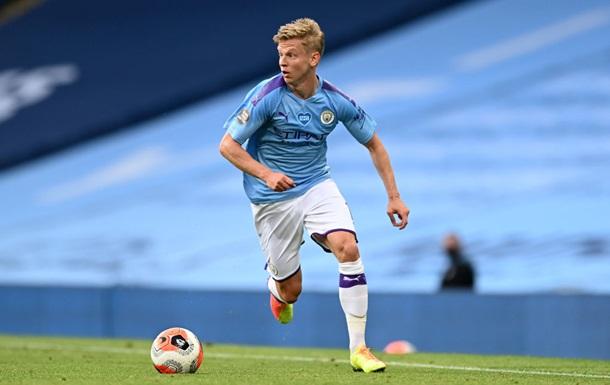 Зінченко потрапив у заявку Манчестер Сіті на Лігу чемпіонів