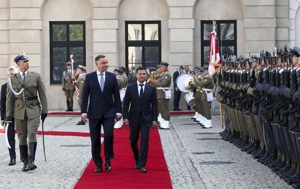 Президент Польши прибудет с визитом в Украину