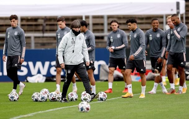 Збірна Німеччини оголосила заявку на матч з Україною