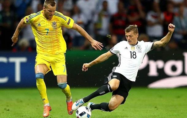 Смотреть онлайн Украина - Германия 10 октября 2020