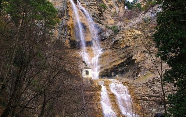 Засуха в Крыму: пересох самый большой водопад