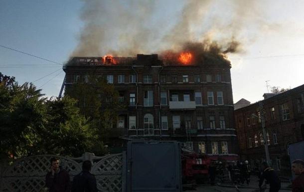 В Харькове горела многоэтажка, есть жертвы