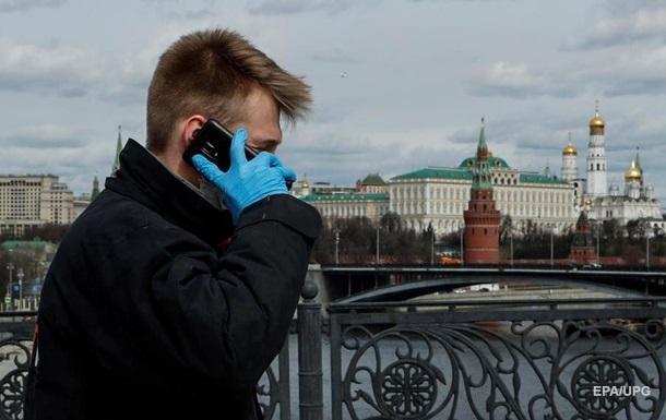 У Росії максимальна кількість осіб, які захворіли на коронавірус