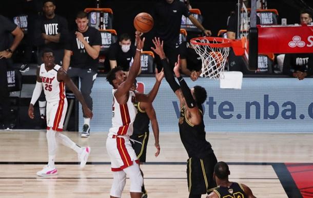 Фінал НБА: Майамі на останніх секундах вирвали перемогу у Лейкерс