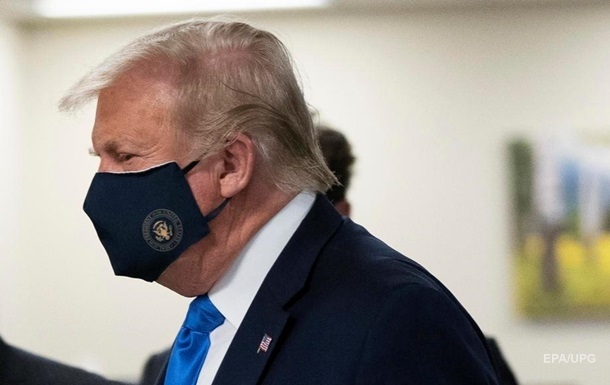 Трамп заявив про готовність здати плазму крові для хворих COVID