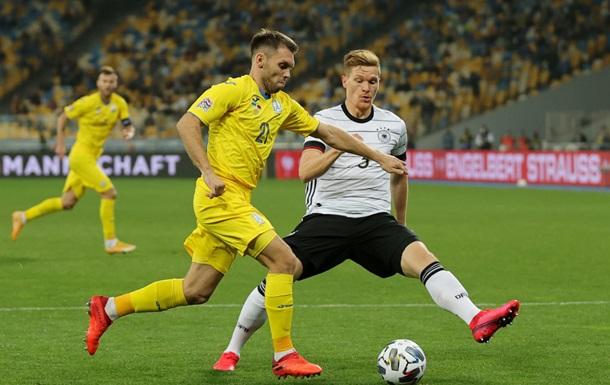 Україна - Німеччина 1:2 відео голів та огляд матчу Ліги націй