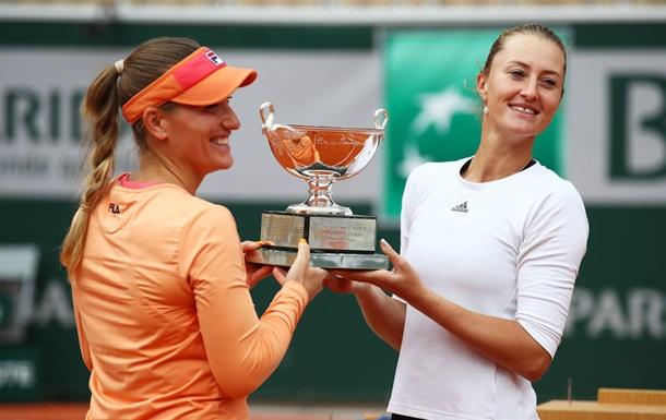 Бабош і Младеновіч захистили титул чемпіонок Ролан Гаррос