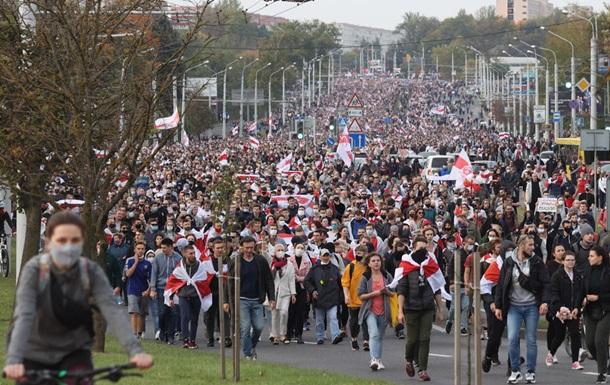 У Білорусі знову протести і жорсткі затримання