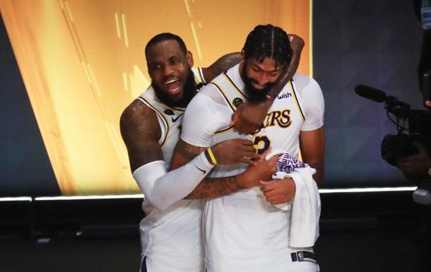 Лейкерс стали чемпионами НБА