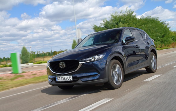 Тест-драйв оновленої Mazda CX-5