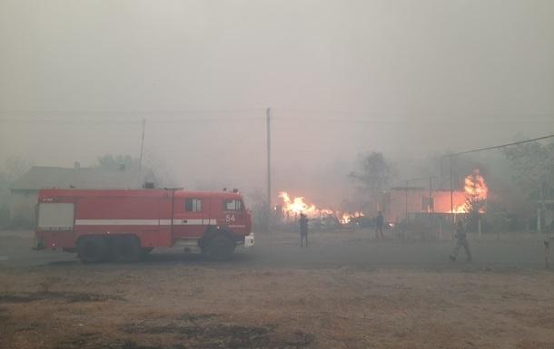 Постраждалим від пожеж на Луганщині виділили 185 мільйонів