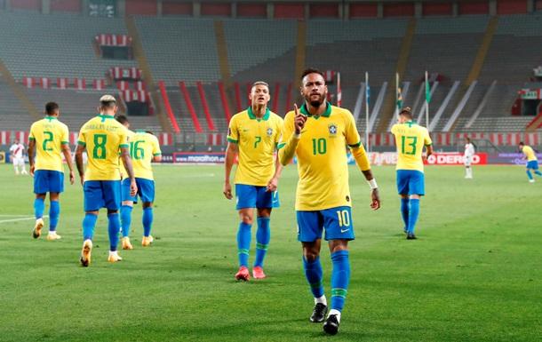 Квалификация ЧМ-2022: Аргентина победила Боливию, Бразилия забила четыре гола Перу