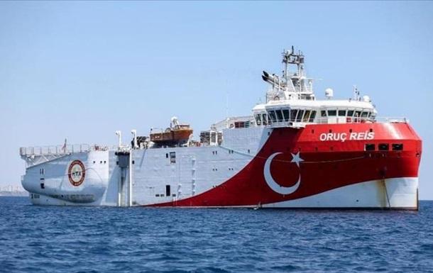 Туреччина почала сейсмічні роботи в Середземномор ї