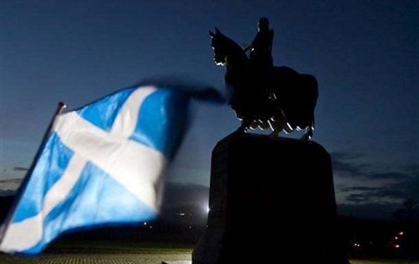 Независимость Шотландии поддерживает рекордное количество шотландцев