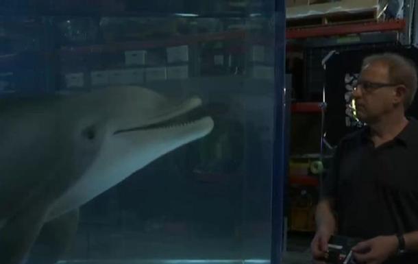 В США создали робота-дельфина