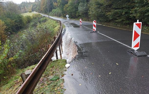 В Словакии обеспокоены наводнением рек Закарпатья