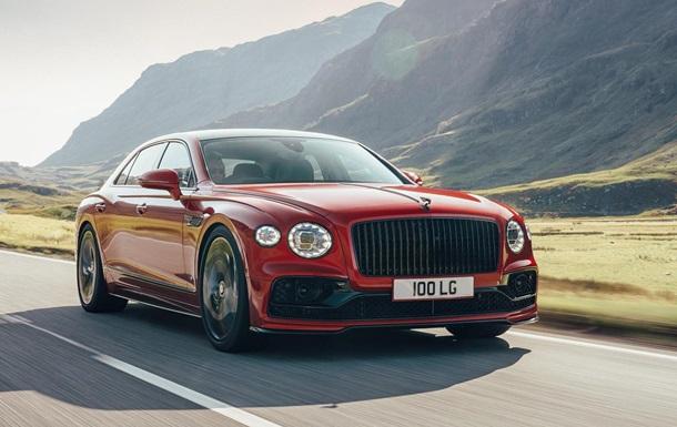 Bentley представил седан Flying Spur