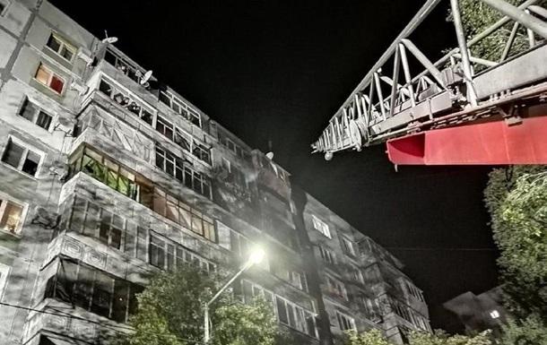 В Запорожье пожар повредил семь квартир в многоэтажке