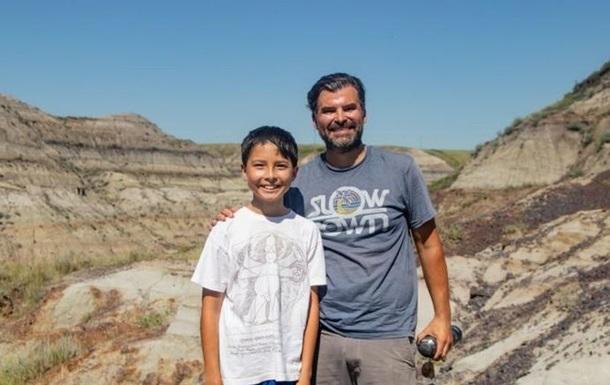 В Канаде ребенок нашел скелет динозавра