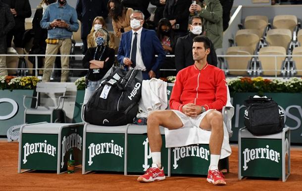 Джокович пропустит Мастерс в Париже, который выиграл в прошлом году