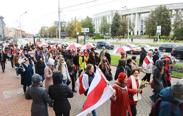 У Мінську почалися затримання на маршах протесту