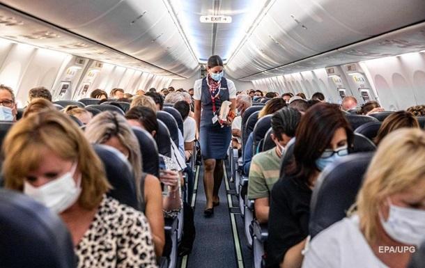 Пентагон оцінив ризик заразитися COVID в літаку