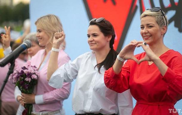 Белорусских оппозиционерок выдвинули на Нобелевскую премию мира