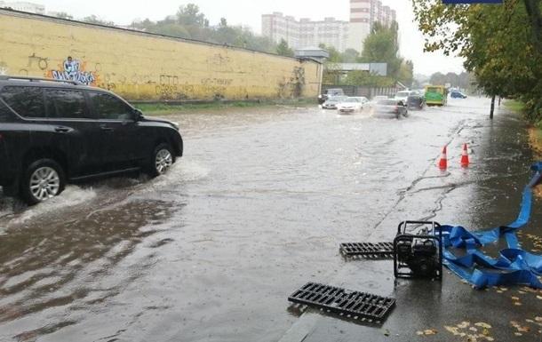 Злива в Києві оновила 130-річний рекорд