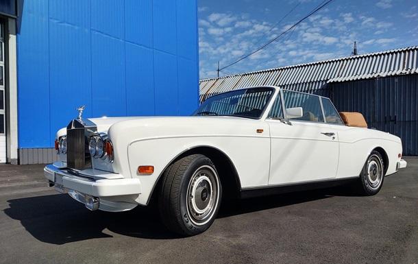 Украинцы отреставрировали редкий Rolls-Royce