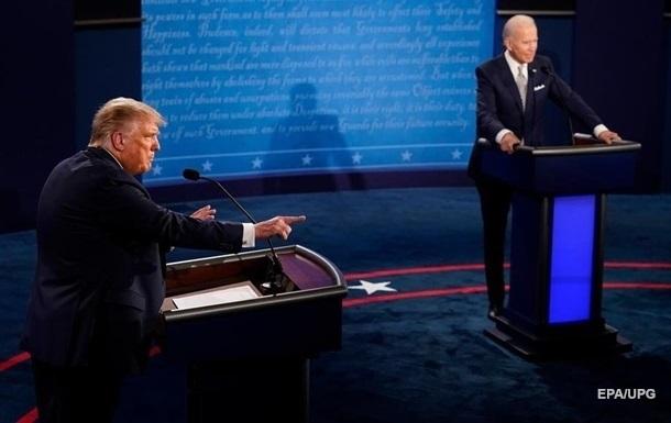 Трампу и Байдену во время дебатов будут поочередно отключать микрофоны