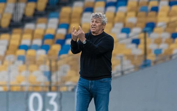 Луческу, уходи: Фанаты Динамо пришли на матч Лиги чемпионов с посланием