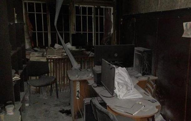 Під Одесою спалили редакцію інтернет-видання