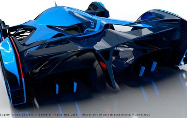 Bugatti презентовала новый гиперкар