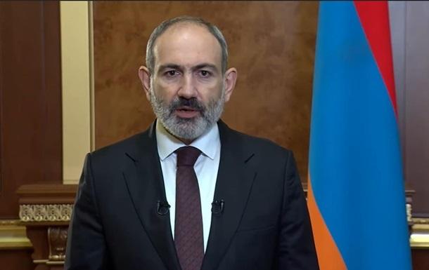 Пашинян: Вірмени боротимуться до кінця за Карабах