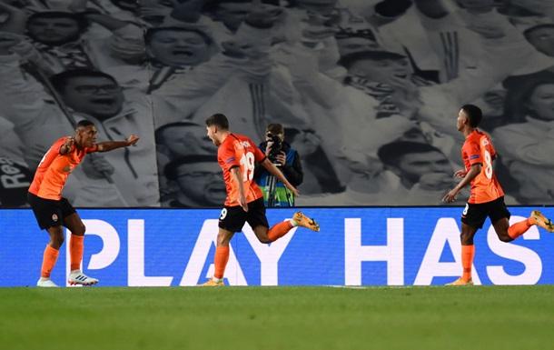 Шахтар здобув історичну перемогу над Реалом