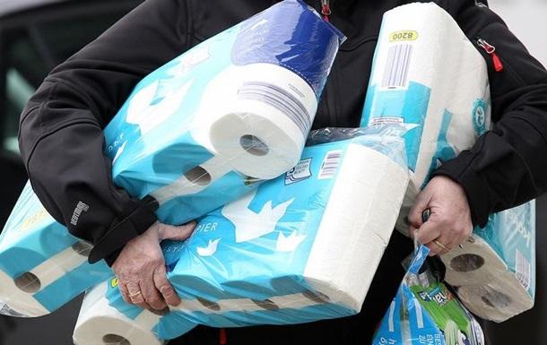 Друга хвиля пандемії: німці знову запасаються туалетним папером