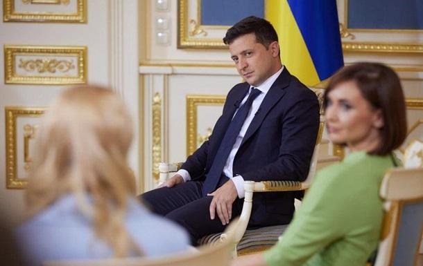 Зеленский объяснил выбор вопросов для опроса