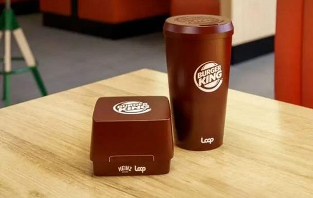 Burger King буде подавати бургери в багаторазових коробках